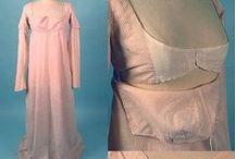 Regency Apron Front Dresses / by Jennifer Rosbrugh