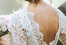 . wedding / dress .