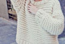 Crochet & Cross Stitch & Knits