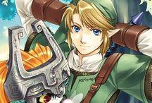 Jeu videos / Se tableau contient des images en rapport avec Zelda