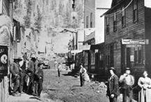 Western Mining History / Nostalgic photos of western mining camps, people, and lifestyles along with modern prospecting supplies and equipment.