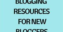 Blogging Resources for New Bloggers / This board offers resources to help the new blogger to blog successfully