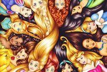 Księżniczki, Disney...