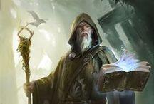 Fantasy-Illustrations-Illusztrációk / Fantasy-Fantasy minden mennyiségben