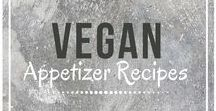 Vegan Appetizer Recipes / Awesome and easy vegan appetizers from around the web. Follow for easy vegan recipe ideas when planning your next get-together!