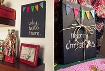 Crafty me. / House projects, sewing and crafts etc... / by Rebecca Lee
