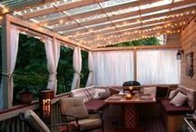 ***Home: Curb Appeal & Outdoor Decor*** / DIY projects for the exterior of the home: yard, entertaining spaces, sheds, and outbuildings ideas.