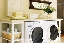 Terese / Laundry Room DIY Design Freshener, Farmhouse with athletic busy family