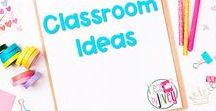 Classroom Ideas / This is a collection of classroom resources and teaching ideas, such as classroom management ideas, organization ideas, and tips and tricks for teachers.