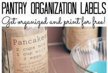 ***Crafty: Free Printables & Paper Crafts*** / Printable labels, paper organization, banners, lists, and downloadable font ideas.
