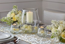 I Do! Weddings and events / See more centerpieces and candles at PartyLite.com