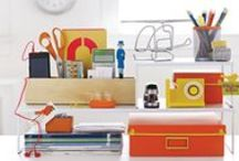 Office Space / Design Ideas products to whip that messy office into shape.