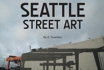 Volume One: Seattle Street Art Graffiti Book  / The Seattle Street Art Graffiti Book series contains  photos of work on the streets in an effort to capture the aesthetic of public art. http://seattlestreetart.com/