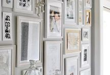 Shelves and decor and wall arrangements / by Pat Tysinger
