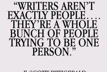 Writing, writing, writing
