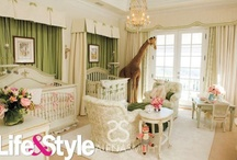 Celebrity Nurseries Designed by Shalena Smith / by Shalena Smith