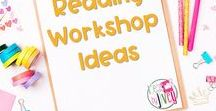 Reading Workshop Ideas / This is a collection of classroom reading resources and teaching ideas all focused on teaching using the reading workshop model in the classroom, including reading centers, reading anchor charts, and read-alouds, mentor text lessons, picture book ideas, chapter book ideas, and small group guided reading resources.