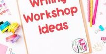Writing Workshop Ideas / This is a collection of classroom writing resources and teaching ideas all focused on using the writing workshop model in the classroom, including writing centers, writing anchor charts, writing mentor texts, and writing mini-lessons.
