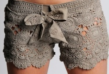 Cro-Shay: Clothes ♥ crochet / shirt, dress, shorts, skirt, blouse, cover, top / by Shay Amburn