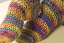 Cro-Shay: Feet & Legs ♥ crochet / leg warmers, boot cuffs, boots, slippers, socks / by Shay Amburn