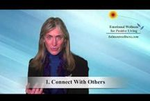 Short Videos for Positive Living / These short self-help videos offer practical tips and tools for your self-help wellness toolbox.  Let me know if you have requests for certain topics!  / by Judy Belmont - Belmont Wellness