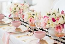 Pink Tablesettings