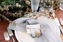 Fall Table Setting Inspiration / Fall entertaining inspiration