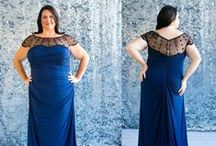 Plus Size Mother of the Bride Dresses / A selection of flattering Mother of the bride/groom dresses for plus size women featuring Jade & Jade Couture, photographed by Botticelli. Available in sizing 00-30 with custom measurements.