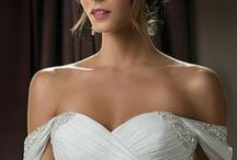 Our Favorite Sweetheart Neckline Wedding Dresses / Happy Valentines Day from Jasmine Bridal!  Check out our favorite sweetheart neckline wedding dresses  / by Jasmine Bridal