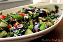 ***Recipes: Salad*** / Healthy, vegetable based salad recipes to help you Eat the Rainbow!