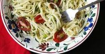 ***Recipes: Pasta*** / Perfect pasta lunch and dinner recipes for the comfort of carb loading anytime.