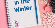 Teaching in the Winter / This is a collection of classroom resources and teaching ideas to be used in the winter, including holiday activities and ideas, and winter lesson plans.