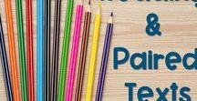 Paired Texts / Paired Passages and Close Reading / This is a collection of resources and teaching ideas to use paired texts and paired passages effectively for content integration, test prep, teaching multiple standards, and writing constructed responses.