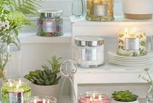 Spring 2017 at PartyLite / Bring the garden into your home this spring with fragrances that invite in the sunshine. From Gardenia Palm to Hibiscus Wild Berry, create your Signature scent!