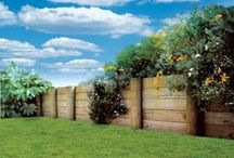 Retaining walls / A well-constructed retaining wall is a functional and attractive feature of your garden or landscape.