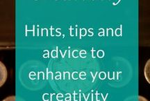Creativity for writers and bloggers / Learning about creativity, ways to boost your creativity and live a more creative life. Get inspired, solve problems and embrace your creative self.