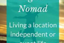 Digital nomad and expat life / The digital nomad experience - being location independent and living the laptop lifestyle. All the tools and tips a nomad needs to work on the road or settle for a while as an expat.  #digitalnomad #expat