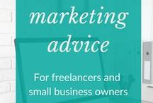 Smarter marketing advice / Marketing advice and ideas to help you stand out in a crowded market and build your online profile. Top marketing tips for freelancers and small business owners.