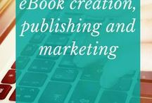 eBook creation, publishing and marketing / Selling the information in your head or using it build your email list are great ways to boost your online profile. #eBook #EBookCreation