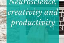 Neuroscience and creativity and productivity / How can we work better? Smarter? What can we apply from what we know about the brain to the way we work so we are happier and more productive creative beings.