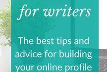 Social Media for Writers / Tips, hints and advice for doing social media well to grow your platform as a writer.