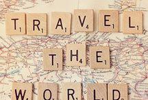 traveling the world :) / als ik ooit een wereldreis ga maken ....