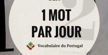 Cartes mémoires de vocabulaire portugais européen / Cartes mémoire pour apprendre le vocabulaire portugais européen le plus utilisé au Portugal, sans efforts, à destination des francophones | Liste de fréquence d'utilisation | Vocabulaire du Portugal