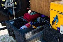 4WD Touring Setups / Whether camping or using a caravan, setting up your 4WD correctly makes storing and finding things when you're off road easier.