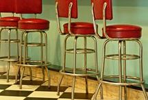 retro diner / retro-tastic diner drive in inspired decor
