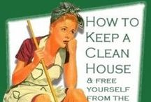 cLeaN it Up! / Cleanliness is Godliness...right?? If only I cleaned as much as I pin..:) / by Kristi Whaley