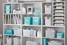 Craft Rooms / All the details on craft organization, storage, supplies and more, all on a budget! / by Marty Walden @ MartysMusings