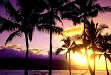 Sunrises & Sunsets / Beautiful Hawaiian sunsets and sunrises, nothing else!