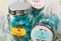 Mini Mason Jars / Mini mason jars make great houses for party favor fillings like candy, bath salts, and more.  The larger the jar, the bigger the treat can be. / by Cool Party Favors