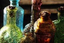 Bottle Art / Art...with bottles.